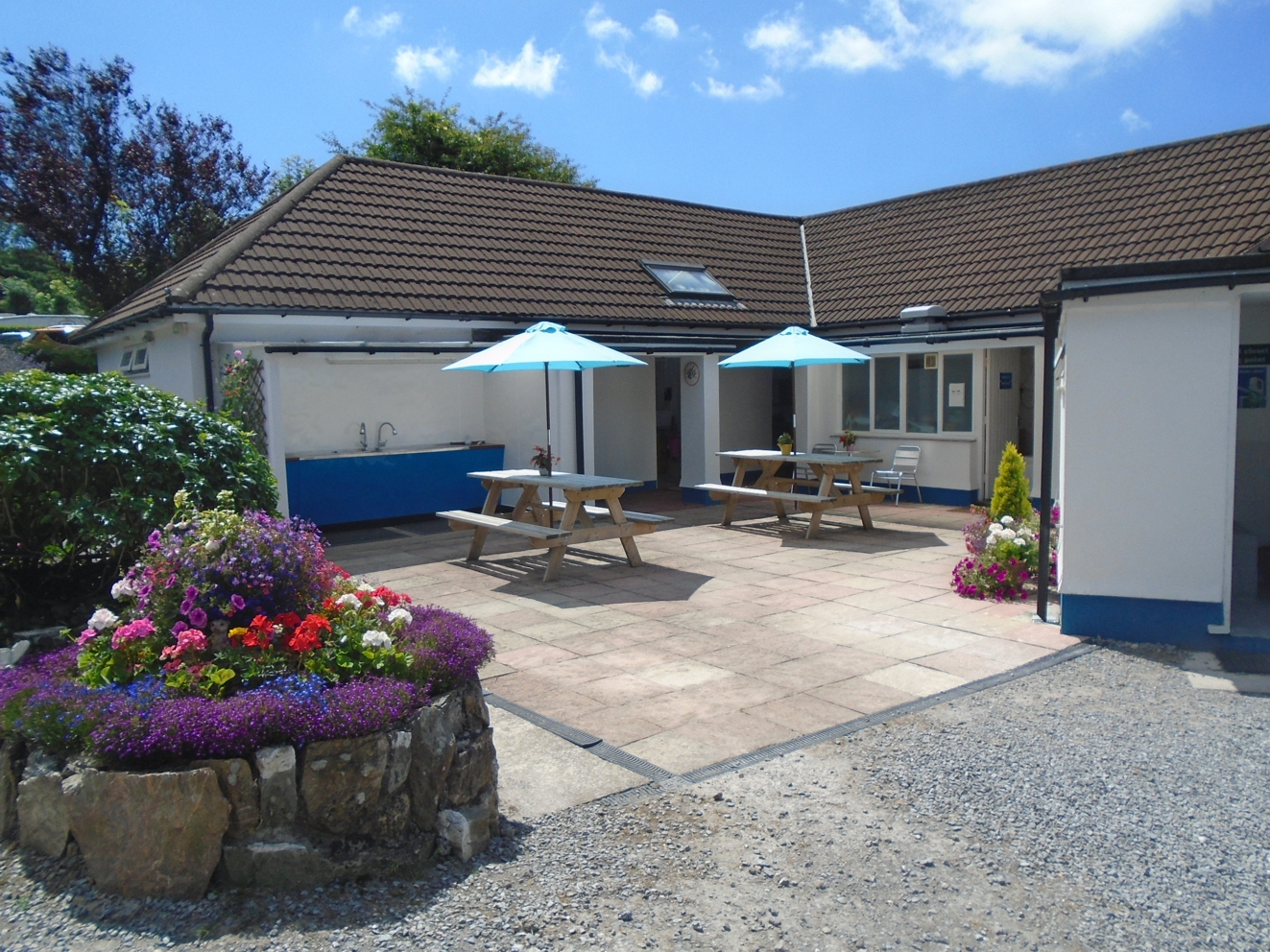 Caravan Park Washing Area Devon