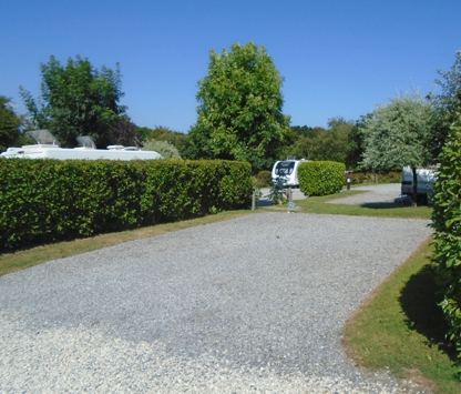 Devon Touring Park Pitch
