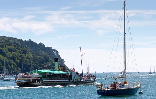 Paddle Steamer Kingswear 001