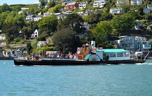 Paddle Steamer Kingswear 002